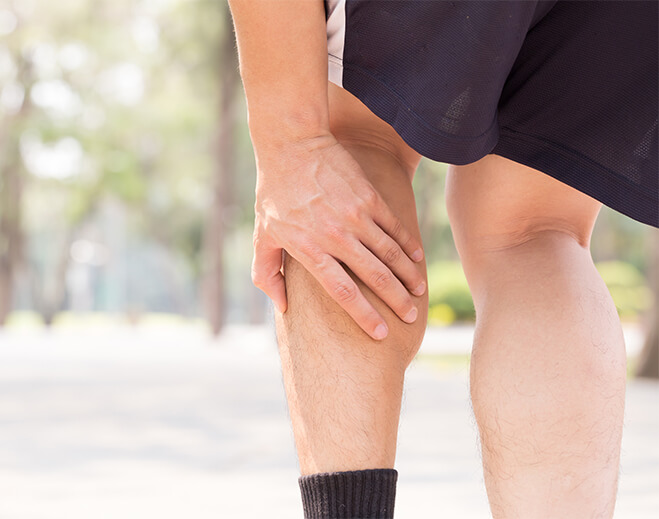walking with leg pain